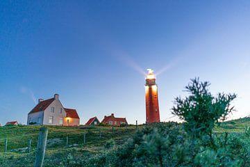 Vuurtoren van Texel in avondlicht van The Book of Wandering