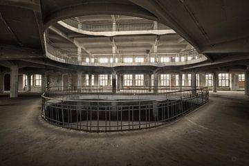 Verlassene Fabrik in Deutschland von romario rondelez