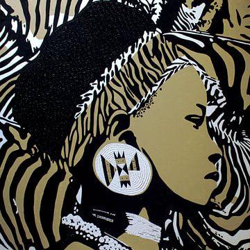 zulu Mädchen von Irene Jonker