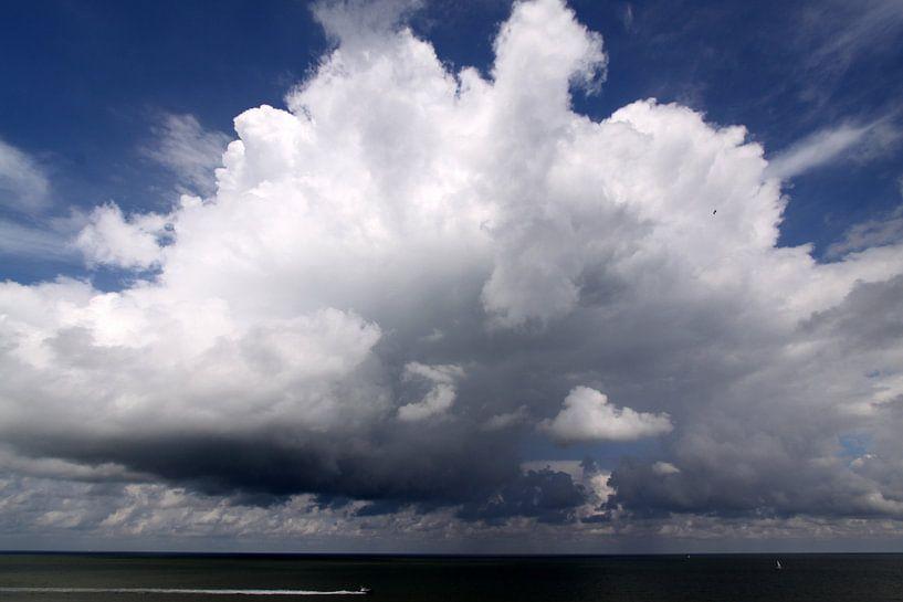 Cumulonimbus in volle glorie van Johan Töpke