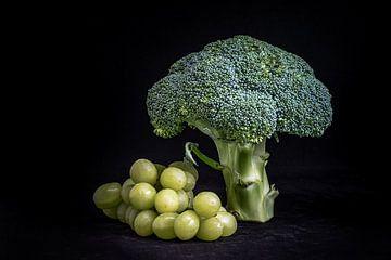 Brokkoli mit Trauben