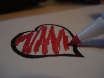 Heart von Elsemieke Afman