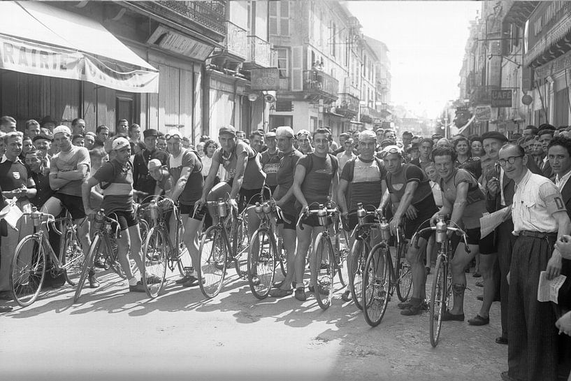 Tour de France 1924 von Timeview Vintage Images