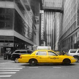Gele taxi's van Joris Pannemans