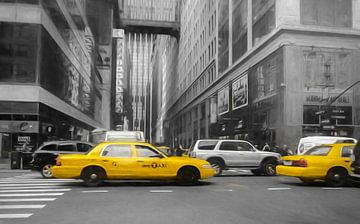 Gele taxi's van Joris Pannemans - Loris Photography