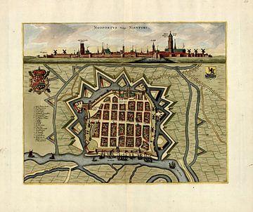 Nieuwpoort an der flämischen Küste um 1700 von Atelier Liesjes
