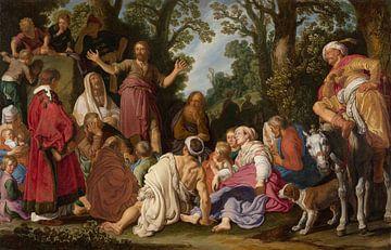 Die Predigt von Johannes dem Täufer, Pieter Lastman