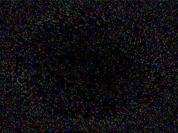 Coloured Stars van Dennis van Dorst