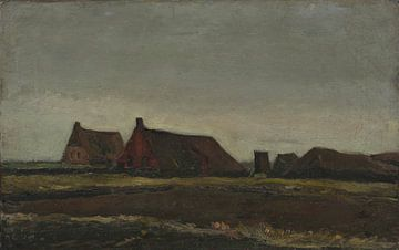 Bauernhöfe, Vincent van Gogh