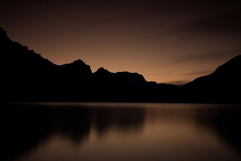Waterfowl Lake Canada van Ellen van Drunen