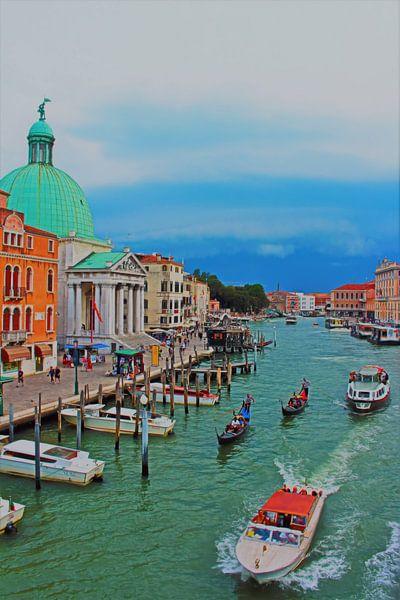 Le canal avant la tempête sur Loretta's Art