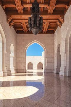 Koninklijk Operahuis in Muscat, Oman van Jean Claude Castor