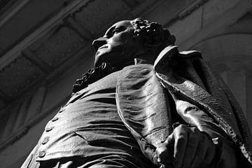 Statue von George Washington von Gert-Jan Siesling