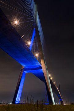 Der Pont de Normandie von Virginie Van Baelen