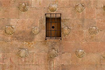 La maison avec les coquillages - Salamanque Espagne sur Hannie Kassenaar