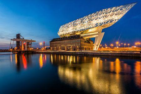 Nieuw Havenhuis Antwerpen von Bert Beckers