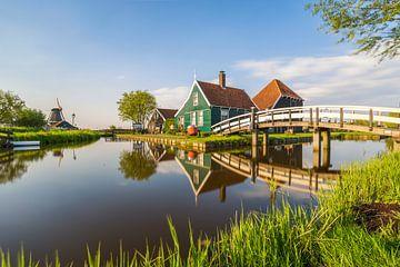 De Zaanse Schans met Hollandse lucht van Paul Weekers Fotografie