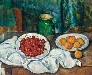 Paul Cézanne. Tafel met fruit