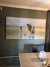 Photo de nos clients: Enfants de la mer, Joseph d'Israël sur Rebel Ontwerp, sur toile