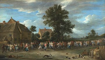 Der Dorfferienort, David Teniers II