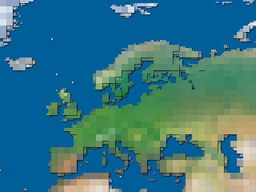 Blokkenkaart Europa