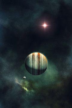 Gasreus Planeet van Markus Gann
