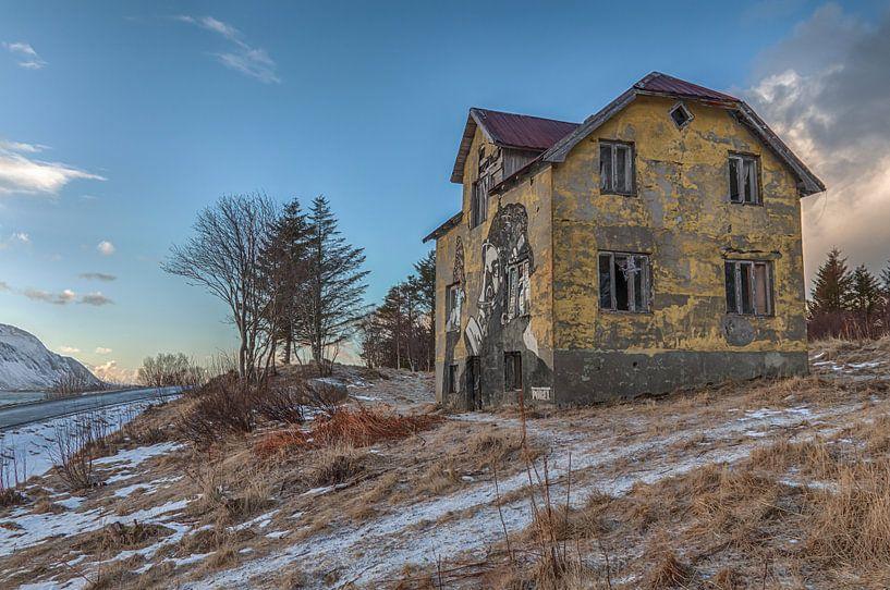 Verlaten huis van Riccardo van Iersel