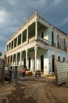 Maison à Remedios, Cuba sur Kees van Dun
