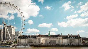 Stadsgezicht van Londen. van OCEANVOLTA