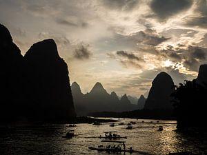 Karstgebergte Xingping van
