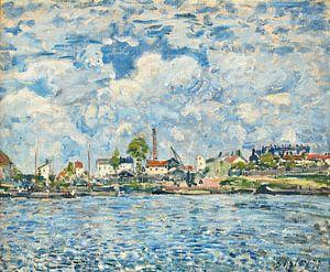 Die Seine im Morgengrauen, Alfred Sisley