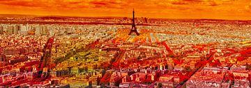 Parijs rood van