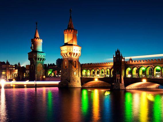 Berlin – Oberbaum Bridge / Festival of Lights