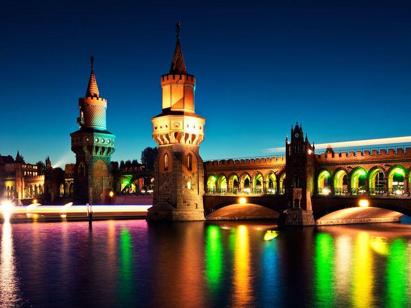 Berlin – Oberbaum Bridge / Festival of Lights van Alexander Voss