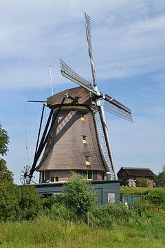 Stommeermolen in Aalsmeer van Rob Pols