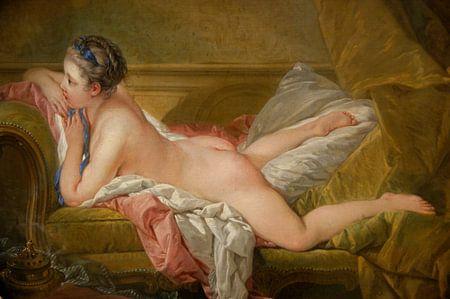 François Boucher. Rustend meisje