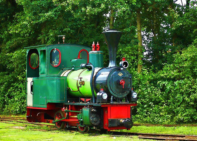 de locomotief van Yvonne Blokland