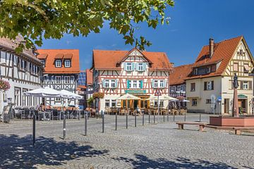 Marktplatz von Oberursel, Taunus van Christian Müringer