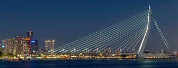 Skyline von Rotterdam von Miranda van Hulst