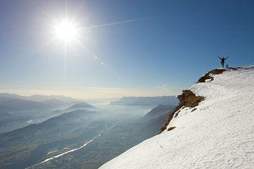 Blick vom Col de Arclusaz – Savoie, Frankreich von Menno Boermans