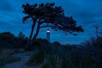 Le phare du Dornbusch à l'heure bleue. sur Stephan Schulz
