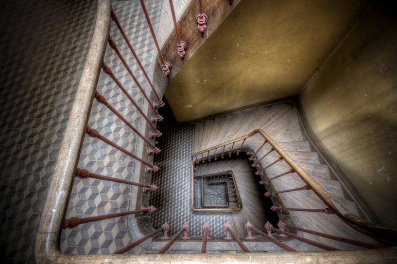 Urbex Trappenhuis von Henny Reumerman