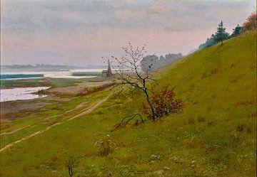 Józef Rapacki~Landschaft Weichsel
