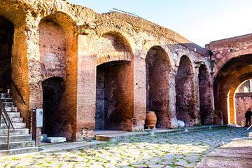 Opgraving in de oude stad Rome van Ineke Huizing