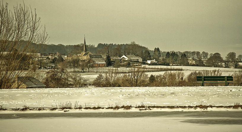 Holset in de sneeuw van John Kreukniet
