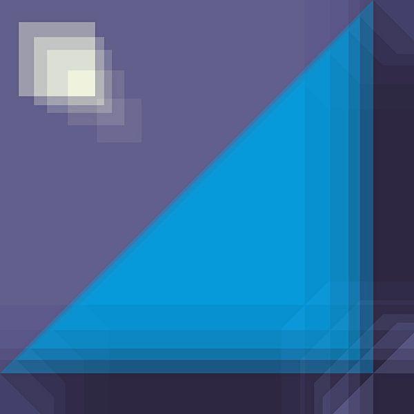 Schaduwspel met geometrie van Marion Tenbergen