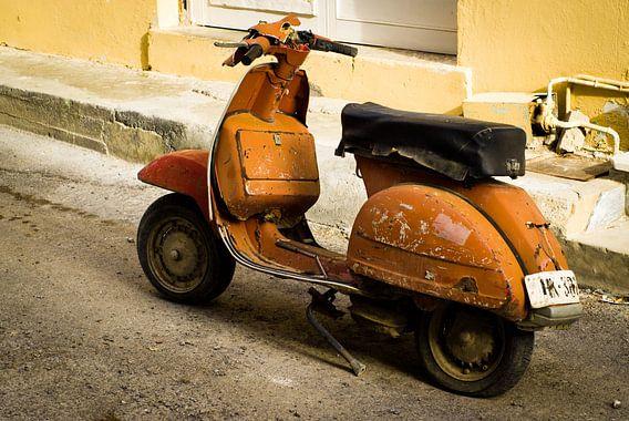 Scooter van KO- Photo