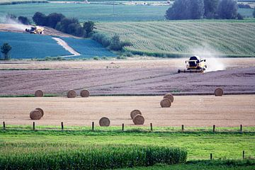 Ernten in Nordfrankreich von Peter de Kievith Fotografie