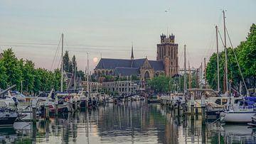Dordrecht aan de Nieuwe Haven sur Dirk van Egmond