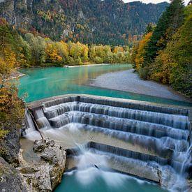 Lechfall Herbst von Einhorn Fotografie